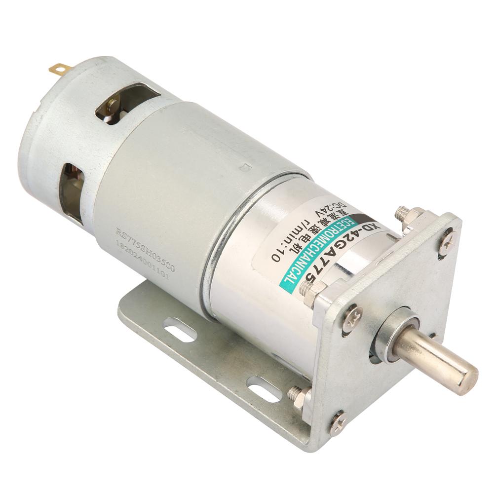 Neu Micro DC Getriebemotor Drehzahlregeler Elektromotor CW CCW 12V//24V 35W Motor