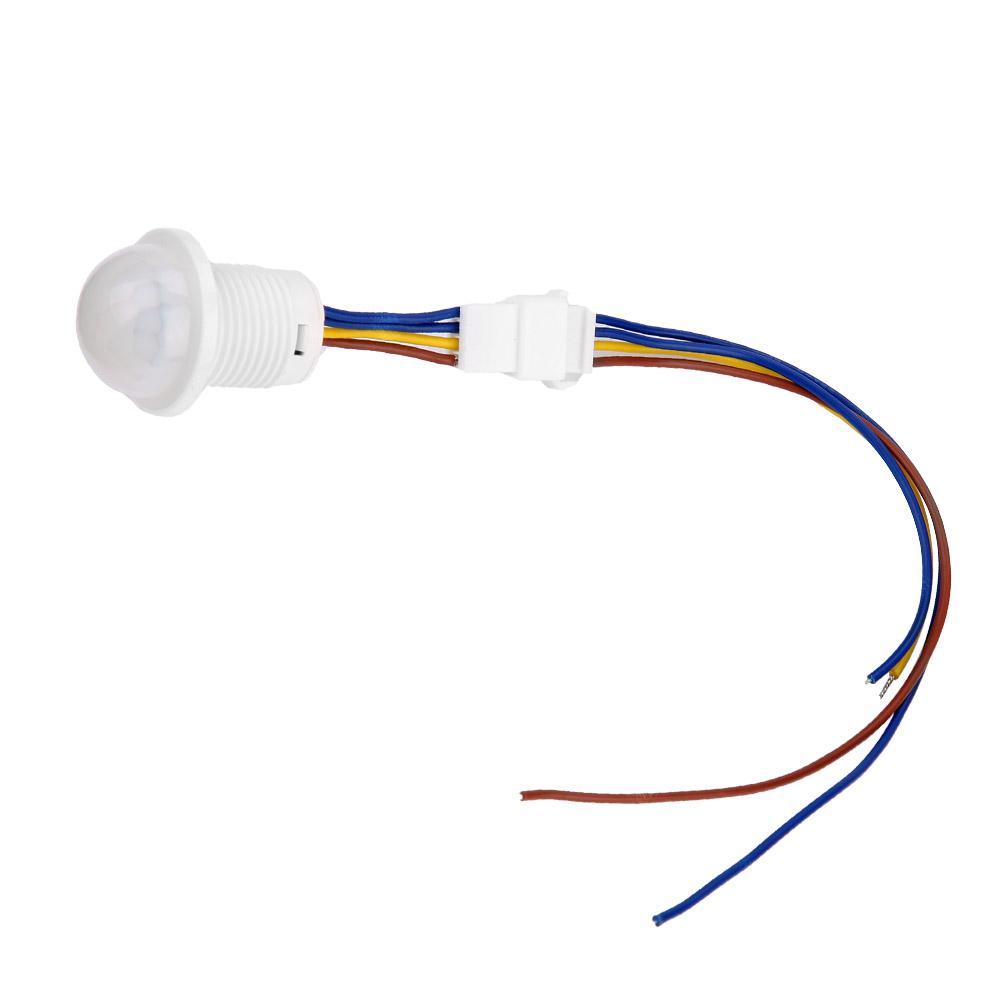 Automatique-Infrarouge-Mouvement-de-Corps-Capteur-Detecteur-Commutateur-1-40W miniature 18