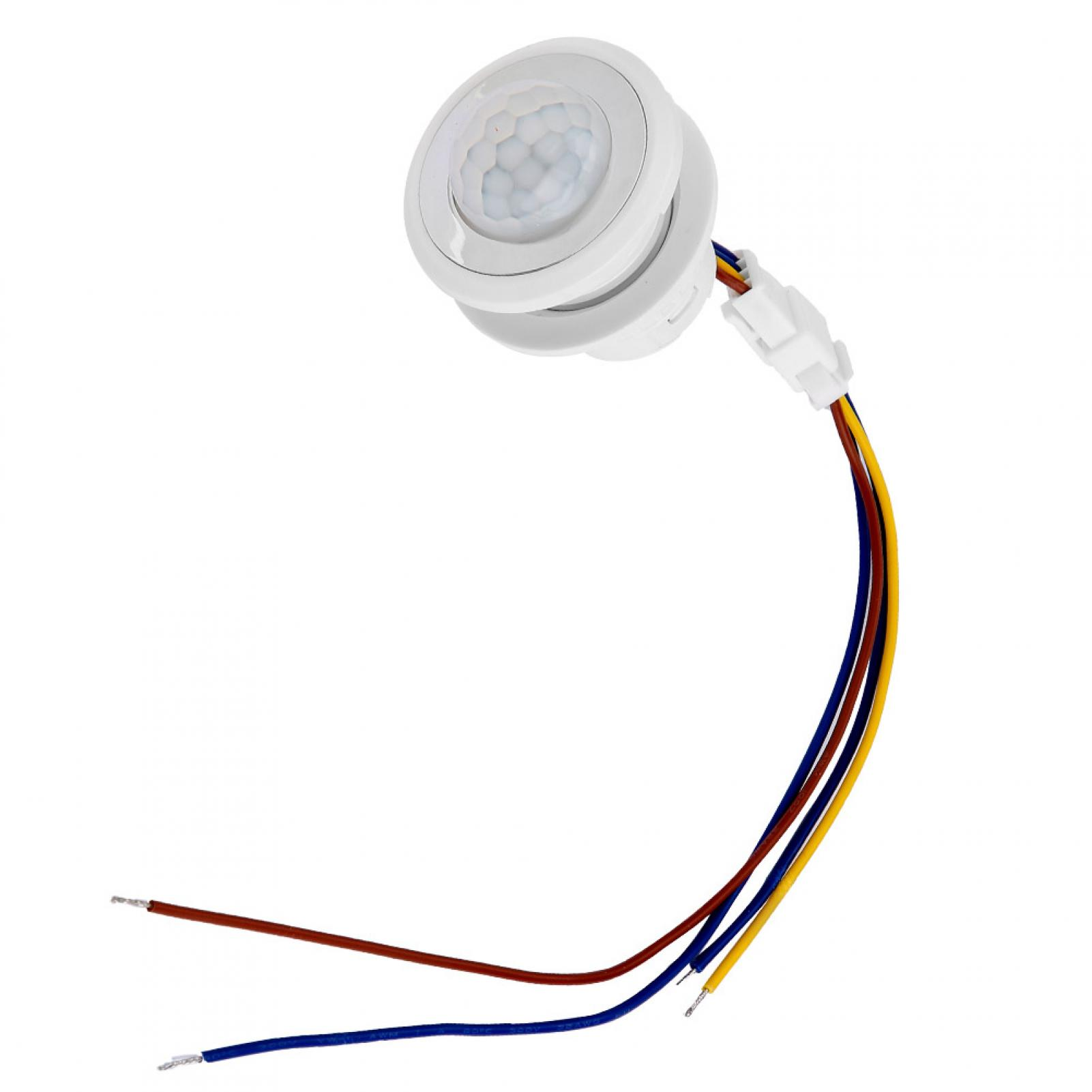 Automatique-Infrarouge-Mouvement-de-Corps-Capteur-Detecteur-Commutateur-1-40W miniature 14