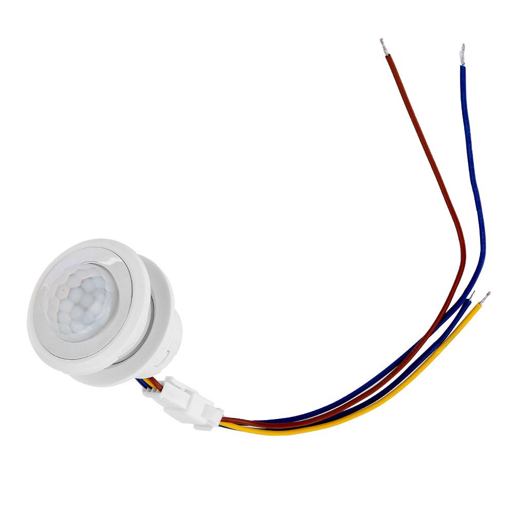 Automatique-Infrarouge-Mouvement-de-Corps-Capteur-Detecteur-Commutateur-1-40W miniature 15