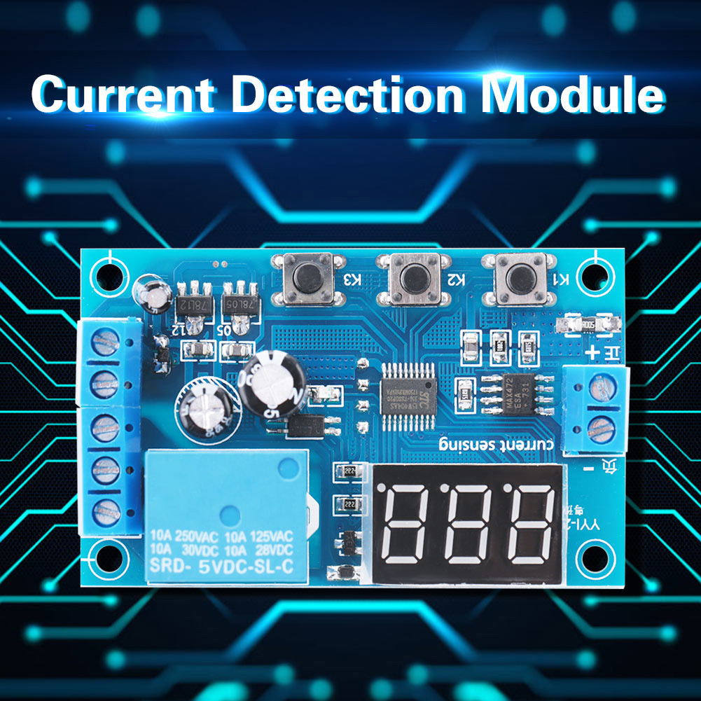 5-12-24V-0-10A-DC-Current-Detection-Relay-Module-Overcurrent-Protection-YYI-2 thumbnail 14