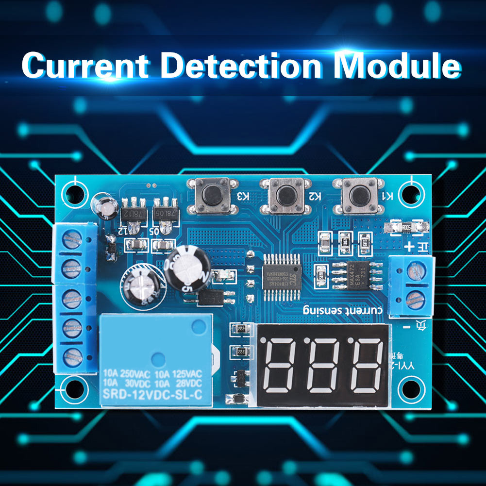 5-12-24V-0-10A-DC-Current-Detection-Relay-Module-Overcurrent-Protection-YYI-2 thumbnail 17