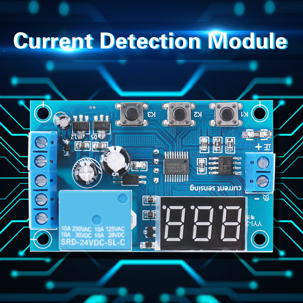 5-12-24V-0-10A-DC-Current-Detection-Relay-Module-Overcurrent-Protection-YYI-2 thumbnail 20