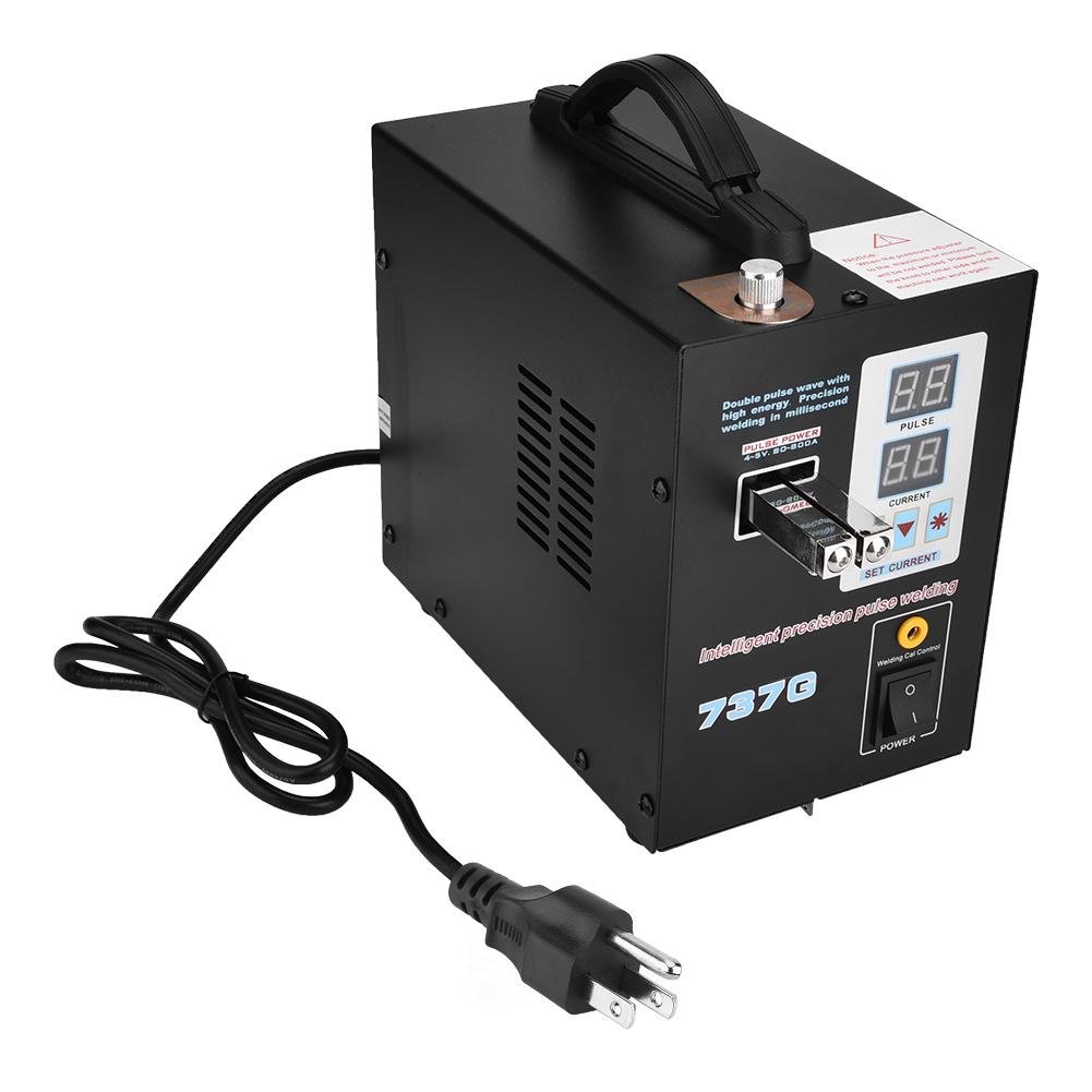 Welding Machine Portable Dual Pulse Battery Spot Welder Welding Machine 800a 0.05-0.2mm Soldering Machine Tools