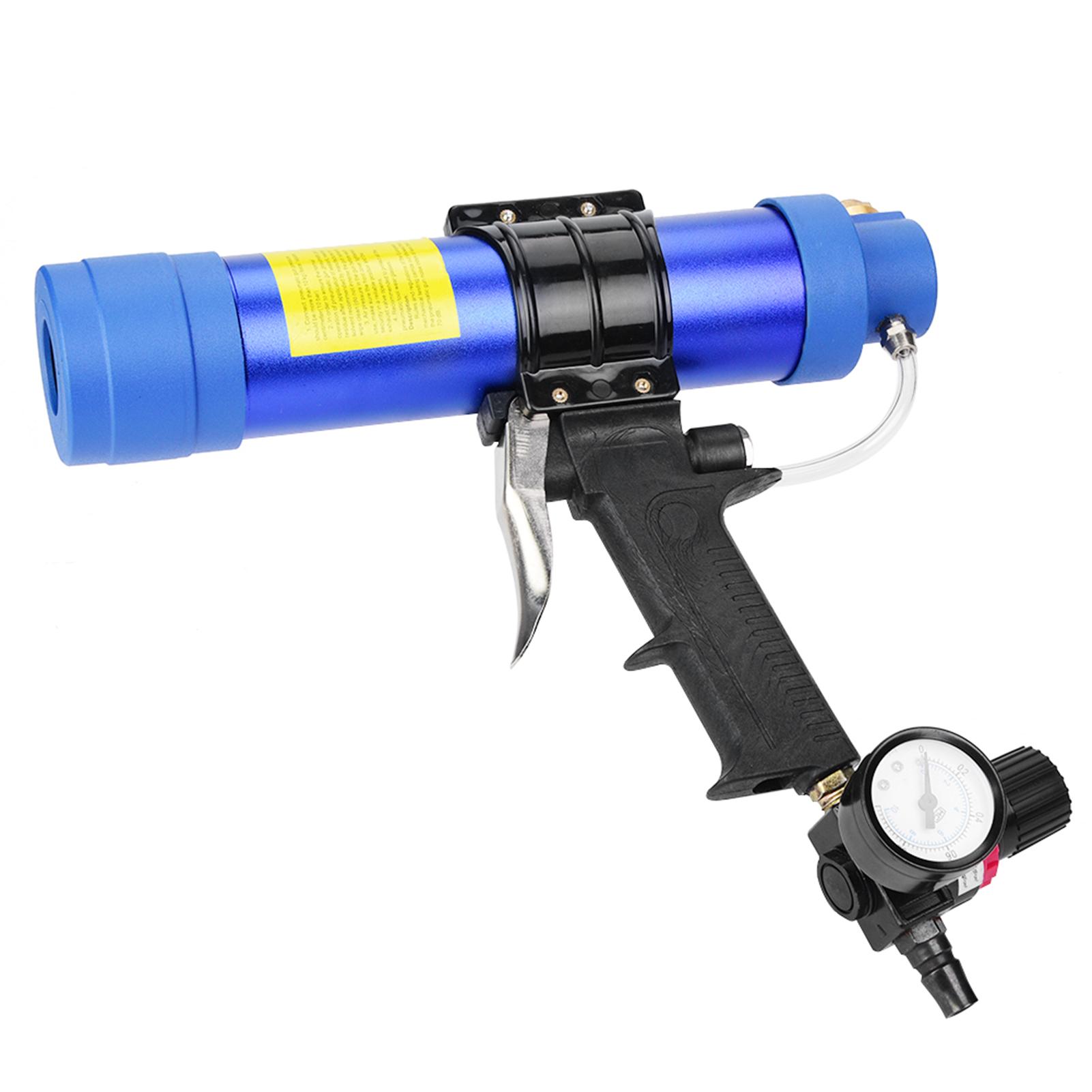 Pistolet-a-Colle-de-Verre-Pistolet-a-Calfeutrer-Pneumatique-Reglable-Colle-Dure miniatuur 6