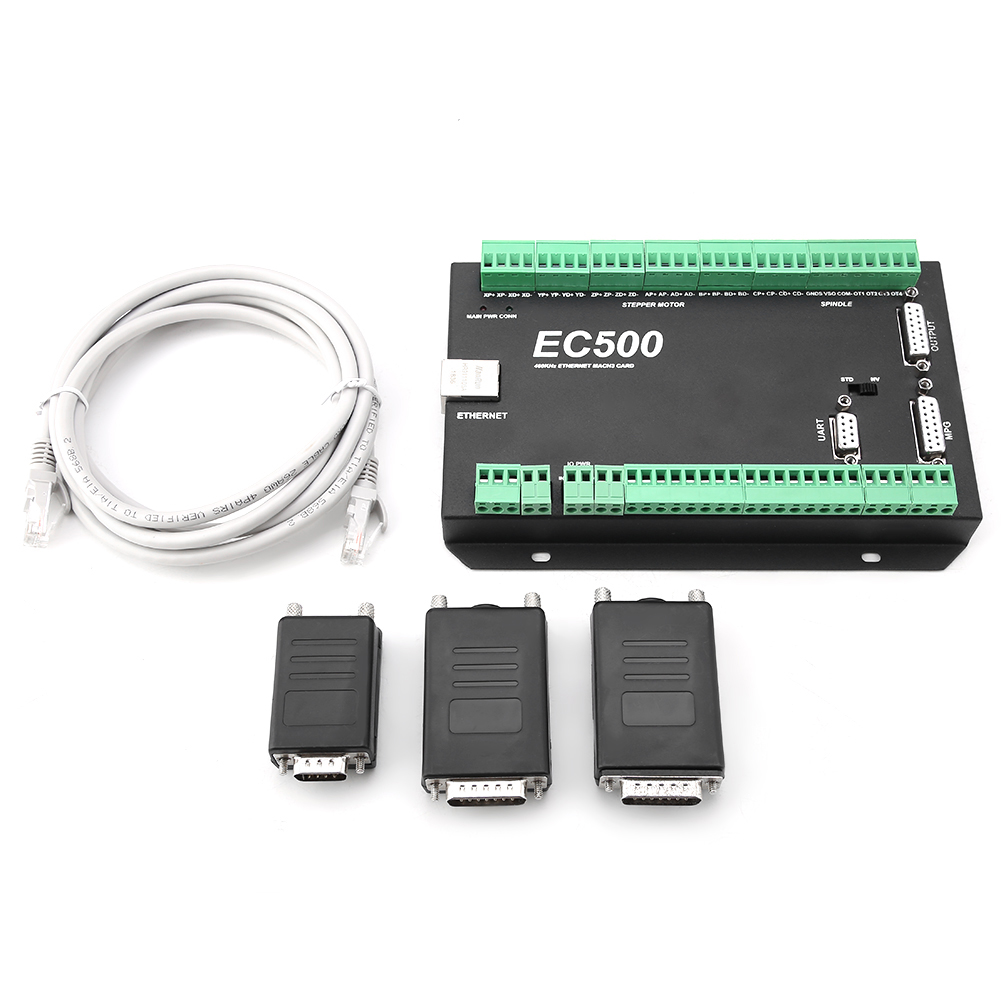 Mach3-EC500-CNC-3-4-5-6-Axis-Motion-Controller-Ethernet-Communication-24-36V thumbnail 12