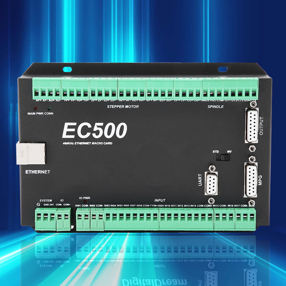 Mach3-EC500-CNC-3-4-5-6-Axis-Motion-Controller-Ethernet-Communication-24-36V thumbnail 13