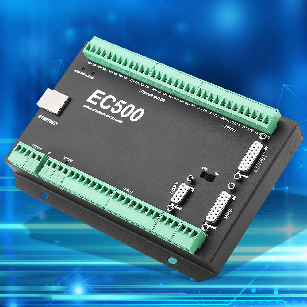 Mach3-EC500-CNC-3-4-5-6-Axis-Motion-Controller-Ethernet-Communication-24-36V thumbnail 23