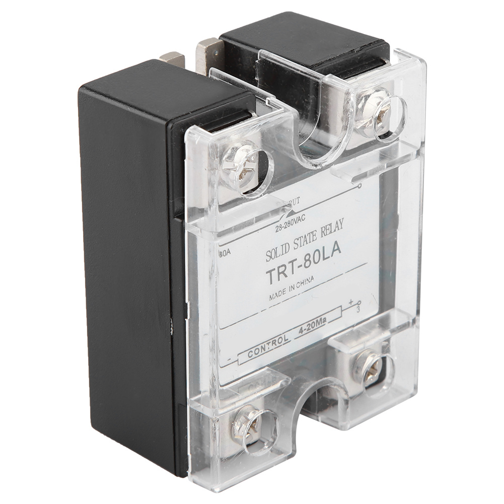 25-100A-Industrial-Solid-State-Relay-SSR-Module-4-20MA-to-AC28-280V-Load-Voltage thumbnail 17