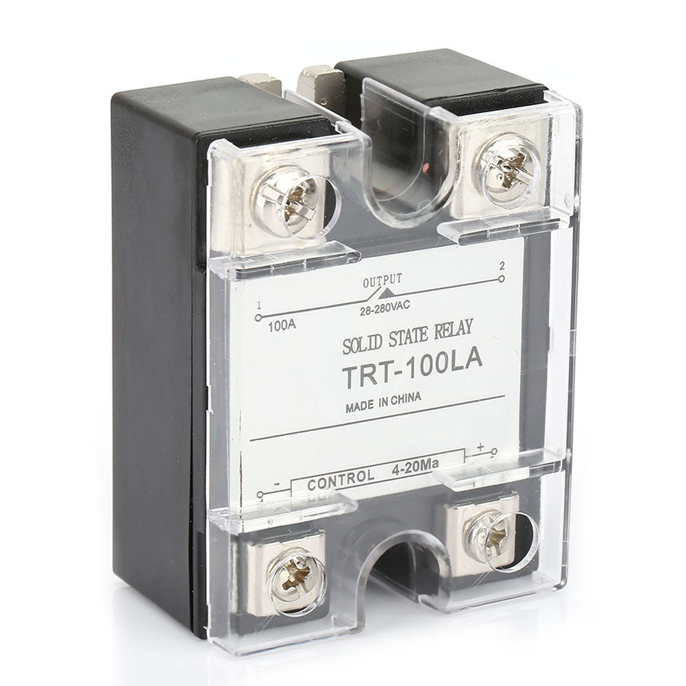 25-100A-Industrial-Solid-State-Relay-SSR-Module-4-20MA-to-AC28-280V-Load-Voltage thumbnail 15