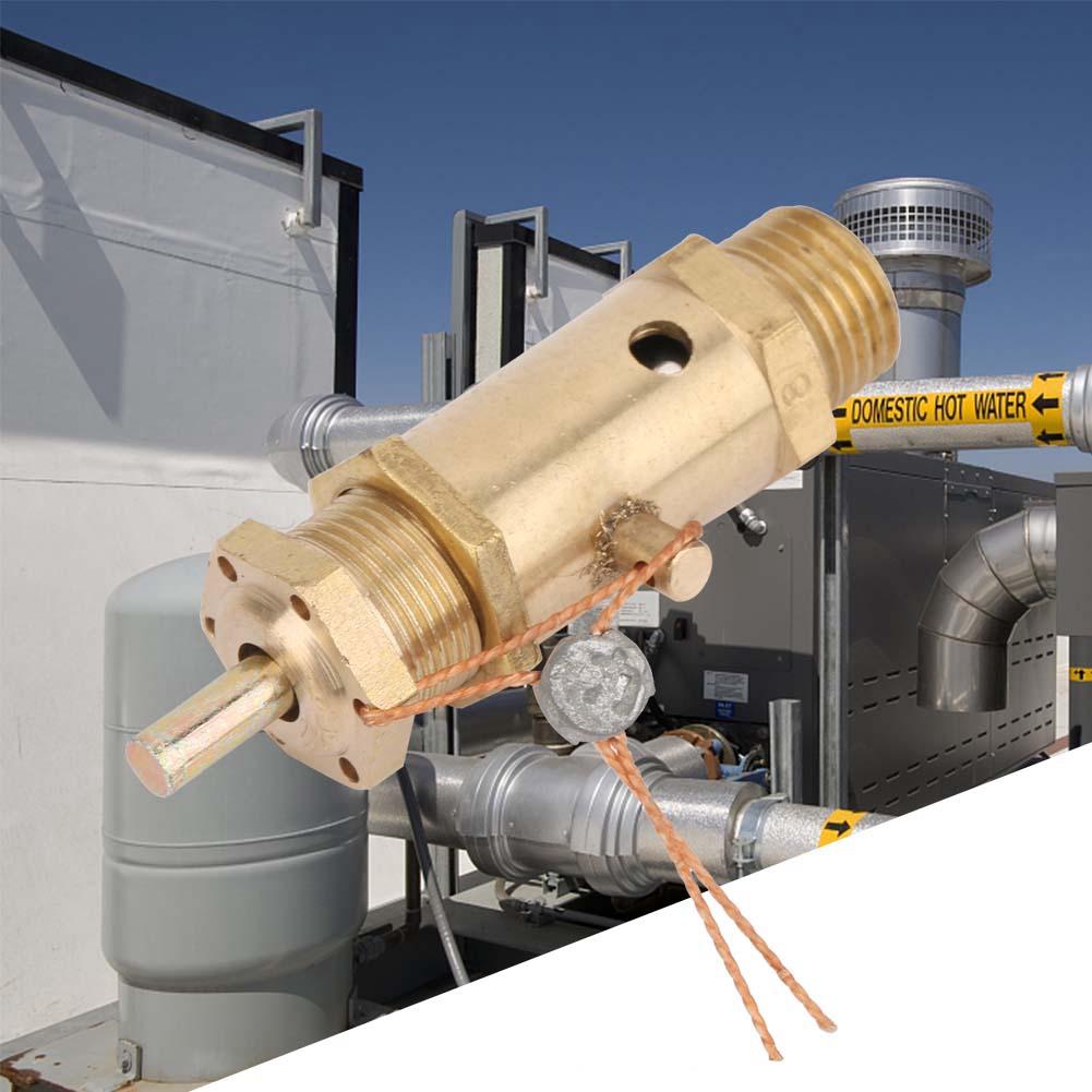 1pcs Air Compressor Safety Release Pressure Valve for Boiler Steam Generator 2KG