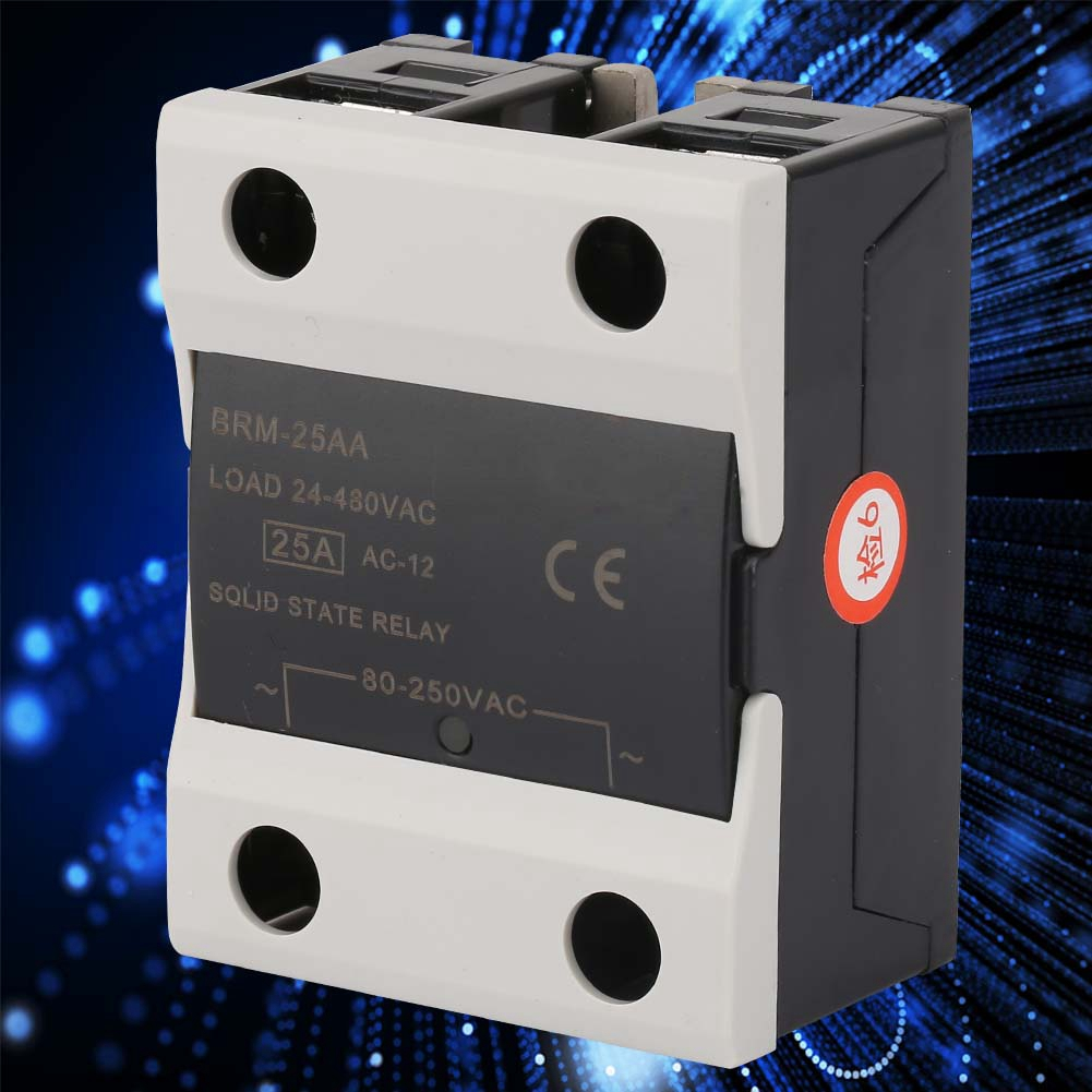 1PCS-10A-25A-40A-AC-24V-380V-Solid-State-Relay-for-PID-Temperature-Controller thumbnail 13