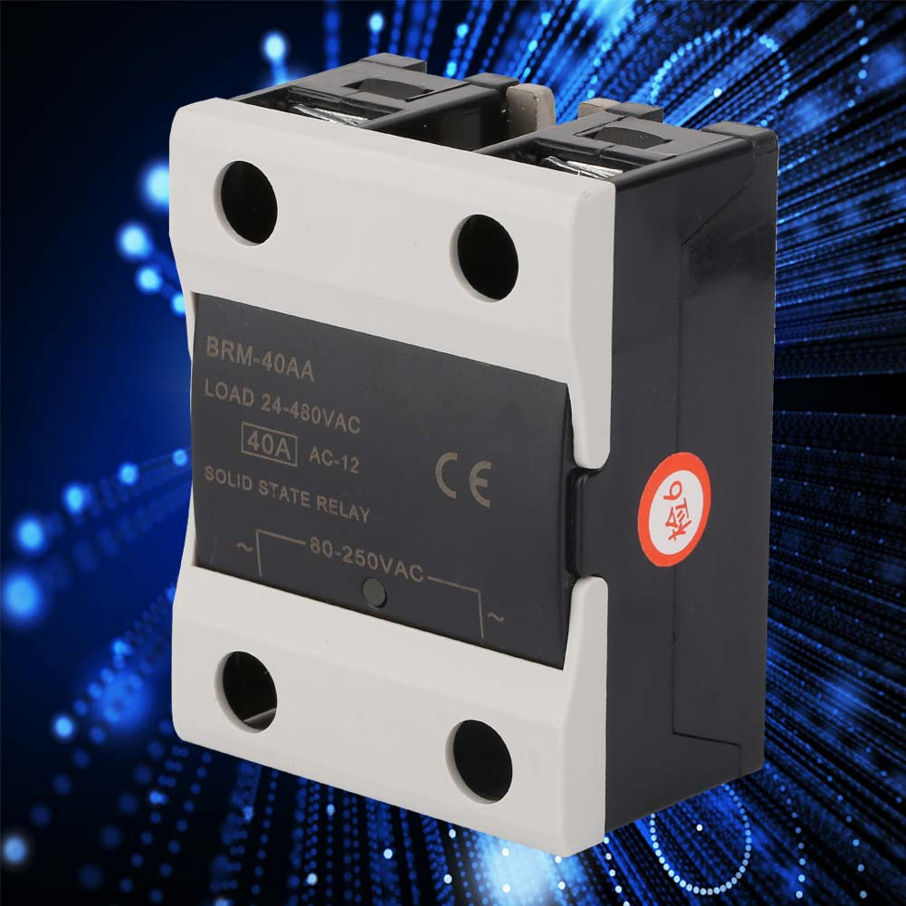 1PCS-10A-25A-40A-AC-24V-380V-Solid-State-Relay-for-PID-Temperature-Controller thumbnail 16