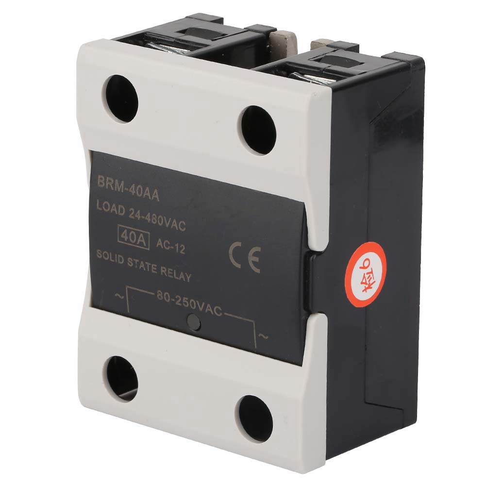 1PCS-10A-25A-40A-AC-24V-380V-Solid-State-Relay-for-PID-Temperature-Controller thumbnail 17
