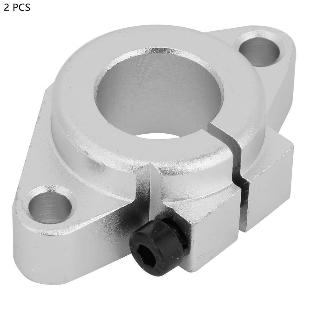 3D Printer 2Pcs SHF12 Bracket Linear Rail Shaft Rod Guide Support Stand Horizontal Bracket for Engraving Machines
