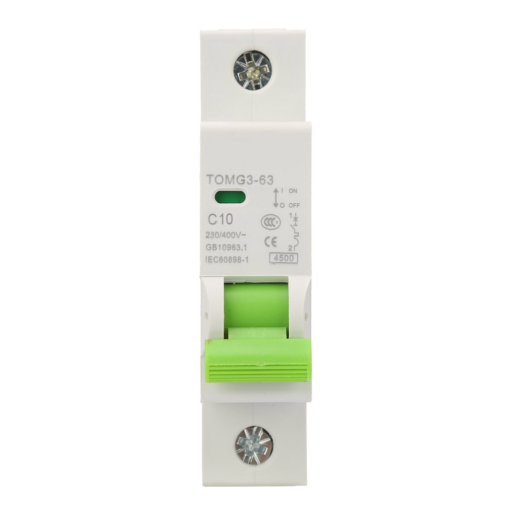 25A 400VAC 2P Miniature Circuit Breaker Leakage Protection with Air Switch for Home and Small Power Generation System