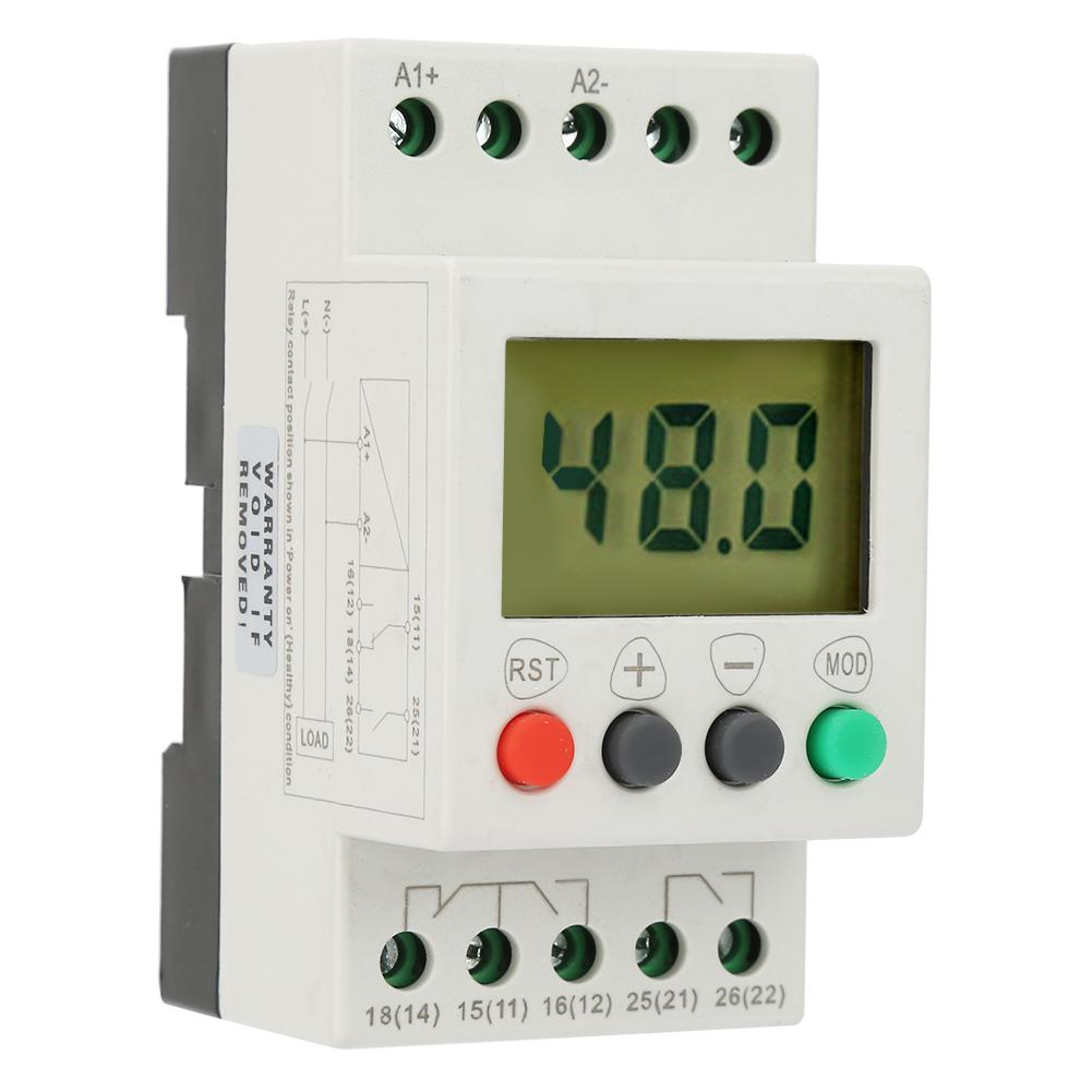 D12-AD48-AD220-Aria-Condizionata-corrente-continua-24V-48V-50-60Hz-Motore-a-rele-SVR1000-Protettore miniatura 14