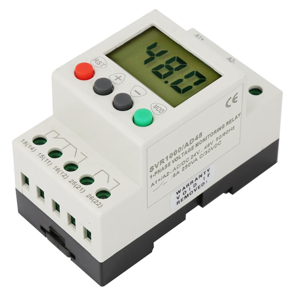D12-AD48-AD220-Aria-Condizionata-corrente-continua-24V-48V-50-60Hz-Motore-a-rele-SVR1000-Protettore miniatura 15