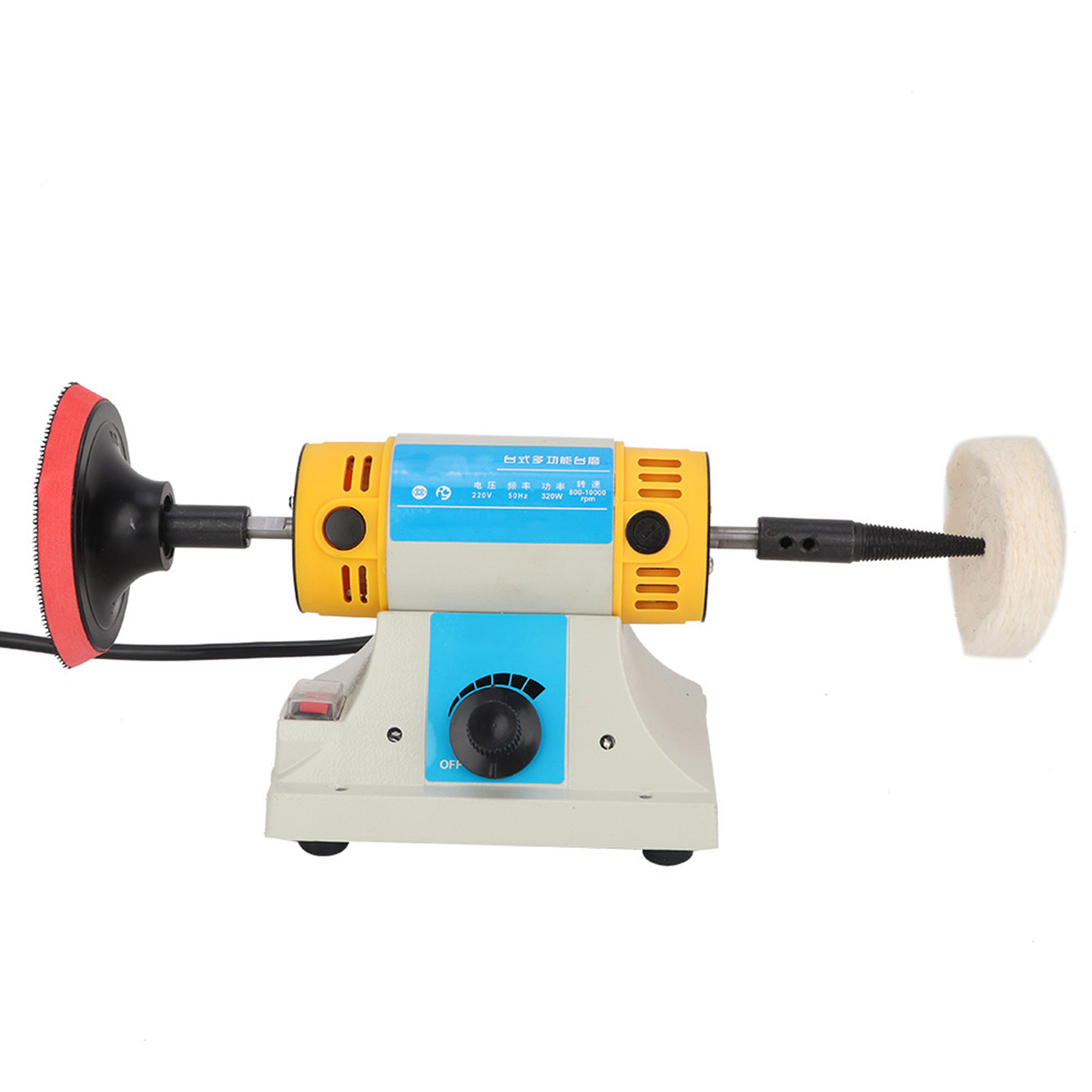 Mini Bench Grinder Rotary Shaft Die Carving Polisher