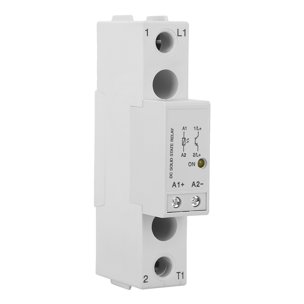 1x-Single-Phase-Din-Rail-Slim-Solid-State-Relay-SSR-Heat-Sink-Controller-Relay thumbnail 12