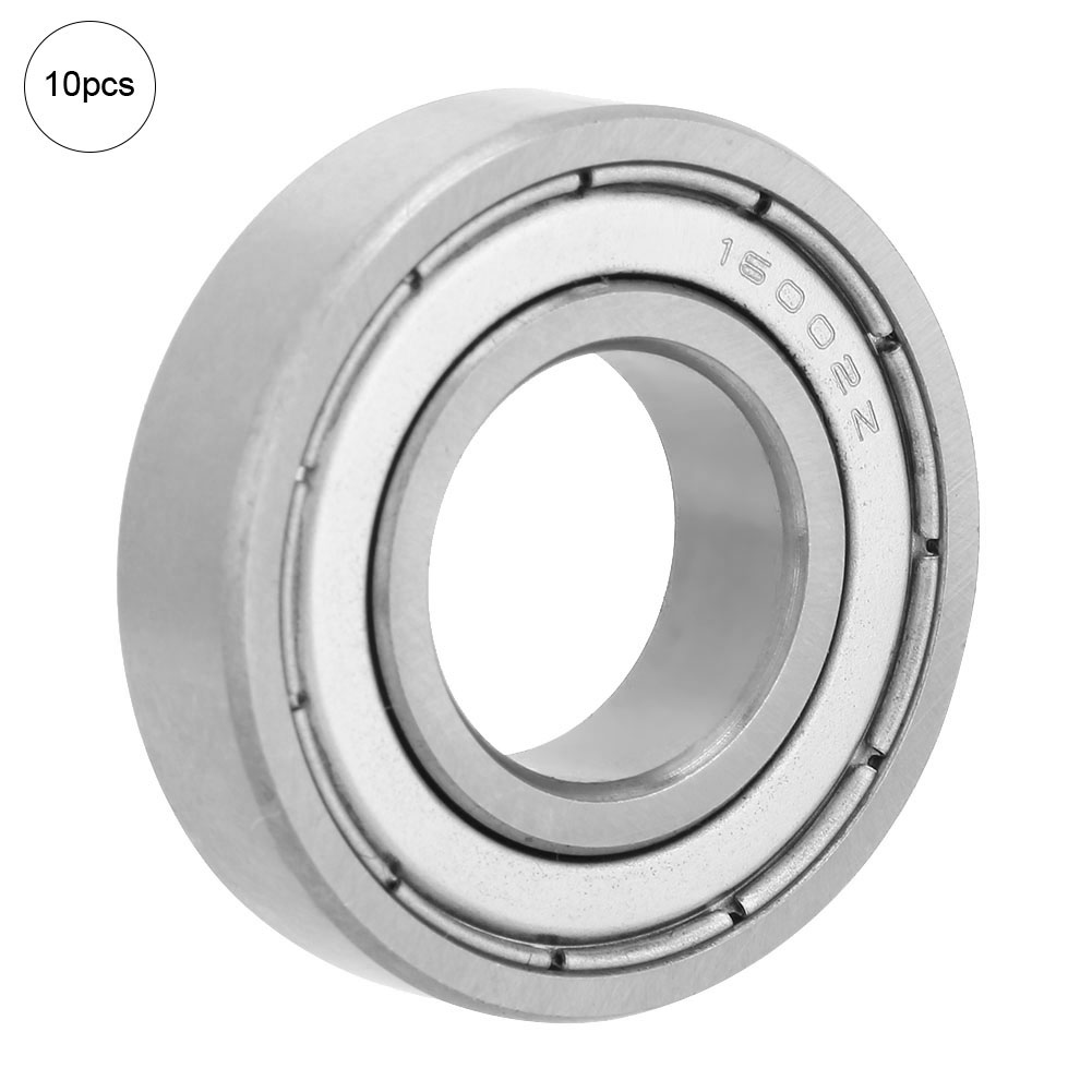 10-PCS-2RS-Double-Rubber-Sealed-Deep-Groove-Ball-Bearing thumbnail 15