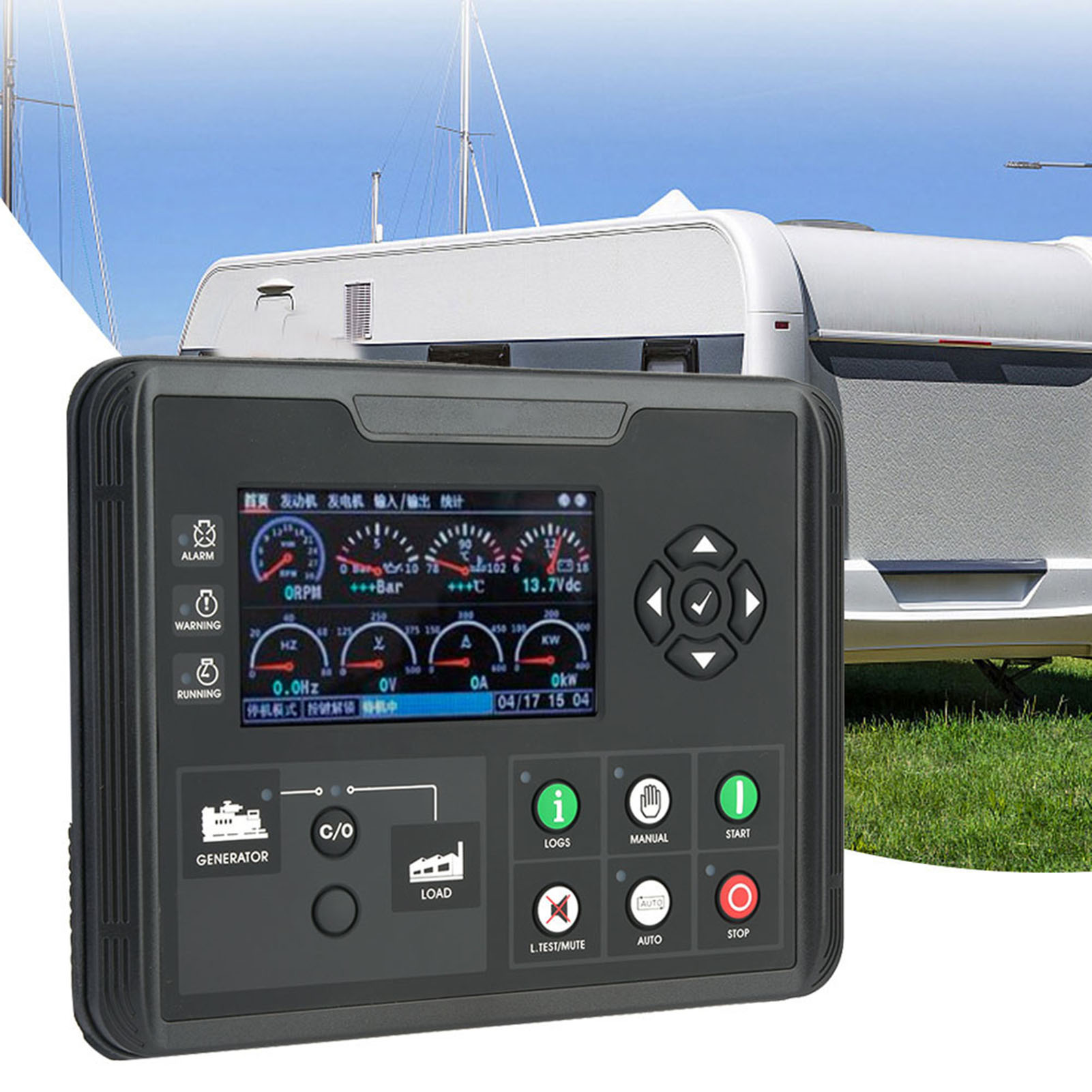 Details about DC60D LCD Display Generator Control Panel for Diesel Genset  Parameters Monitor