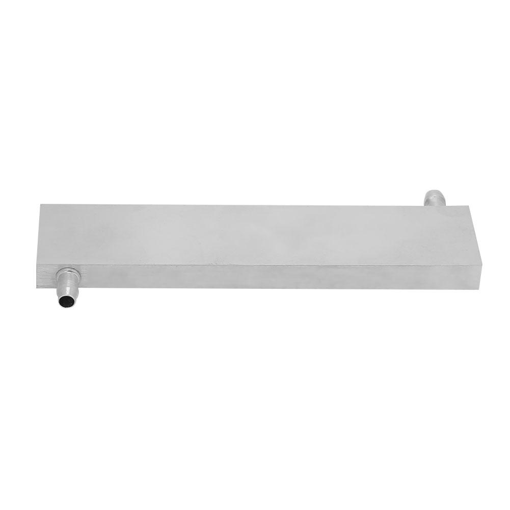 #4 Aluminum Water Cooling Block Waterblock Cooler Water Cooling Head Light /& Right Effluent