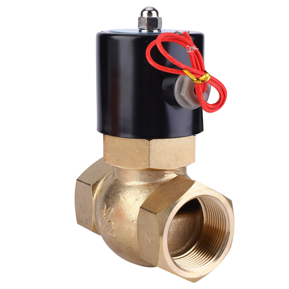 1pcs-Brass-Two-way-Normally-Closed-Solenoid-Valve-For-Air-Water-Steam-0-1-1-5Mpa thumbnail 10