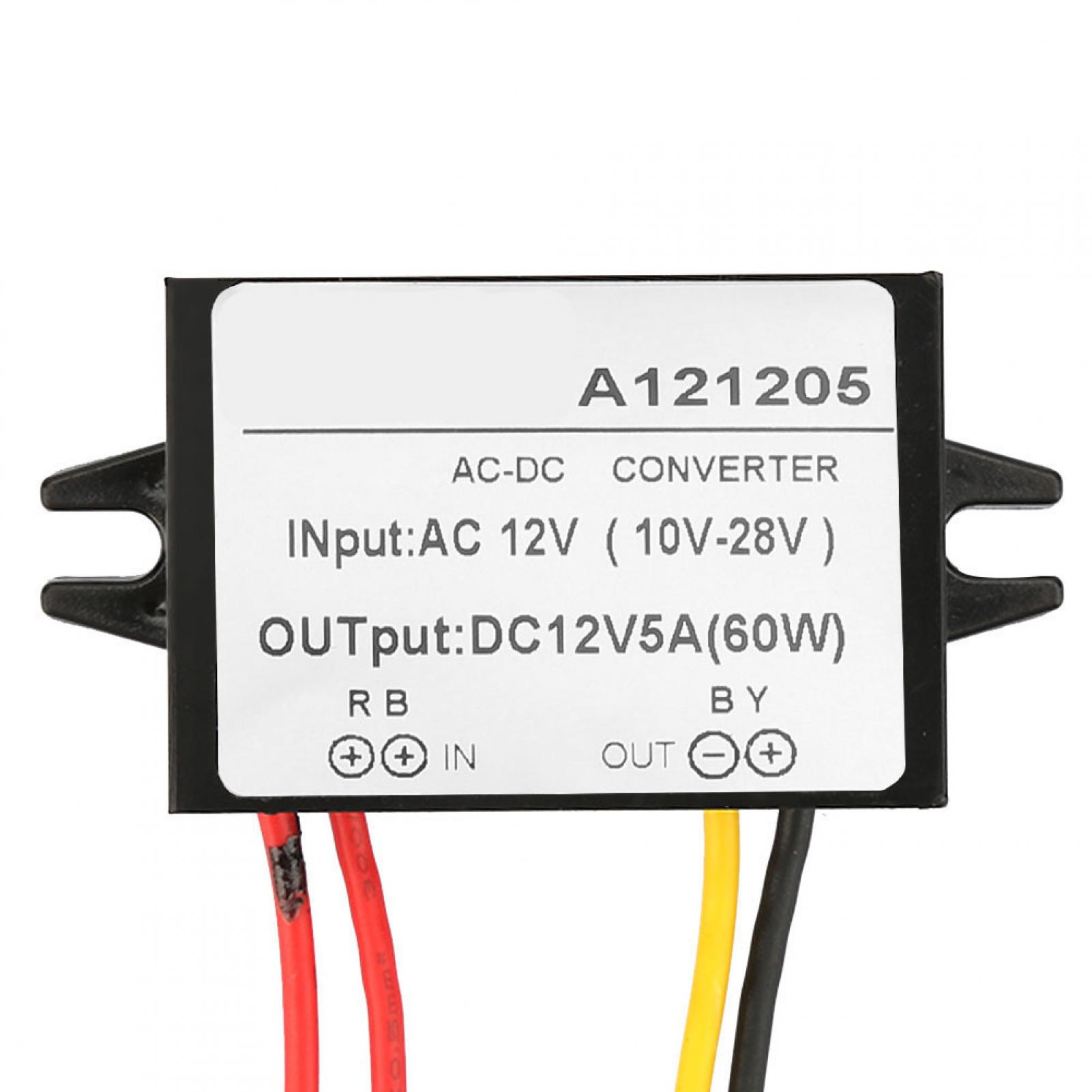 thumbnail 28 - AC-10-28V-to-DC-12V-Buck-Converter-AC-DC-Step-Down-Power-Supply-Module