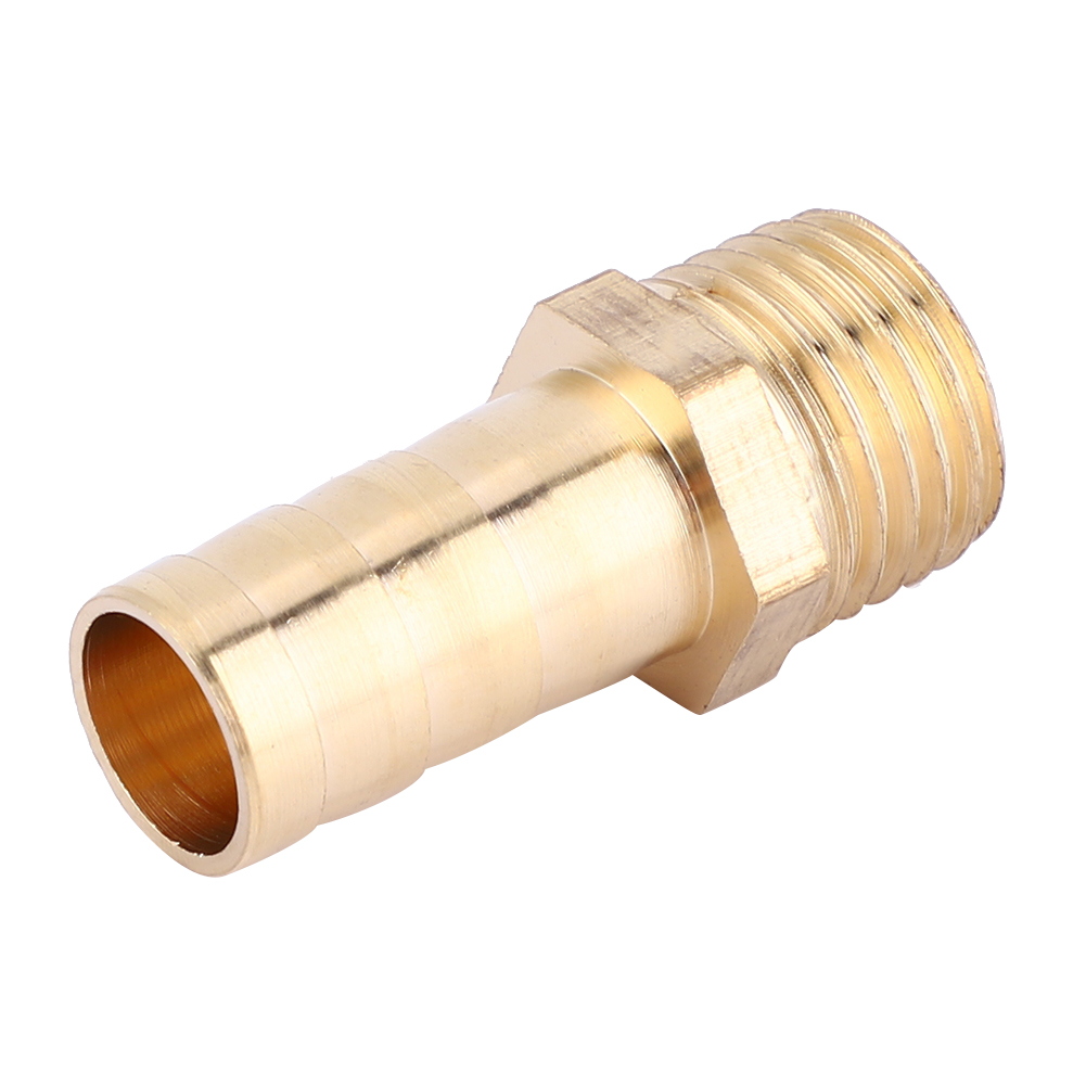 5-pcs-10mm-Hose-Barb-Practical-Male-BSP-Connector-Brass-Fitting-Adapter-Coupler thumbnail 18