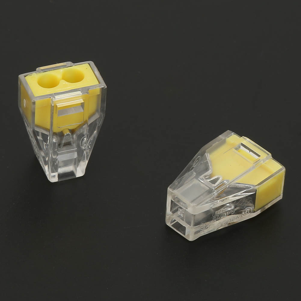 100pcs-2-4-6-8-Pin-Safe-Push-Fit-Wire-Wiring-Connector-Cable-Terminal-Block thumbnail 11