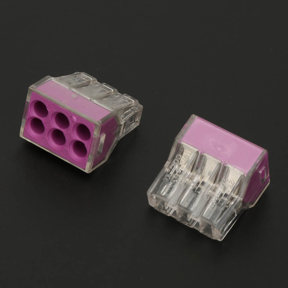 100pcs-2-4-6-8-Pin-Safe-Push-Fit-Wire-Wiring-Connector-Cable-Terminal-Block thumbnail 16