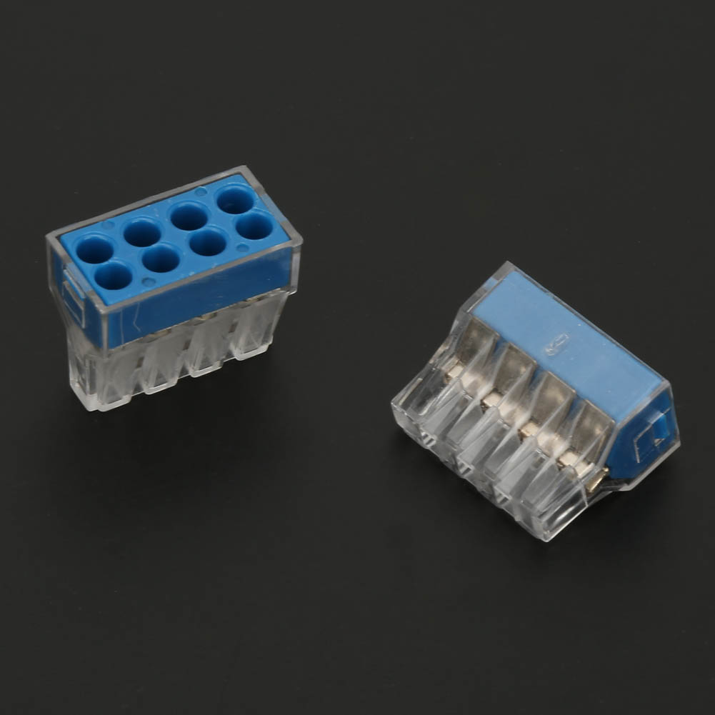 100pcs-2-4-6-8-Pin-Safe-Push-Fit-Wire-Wiring-Connector-Cable-Terminal-Block thumbnail 19