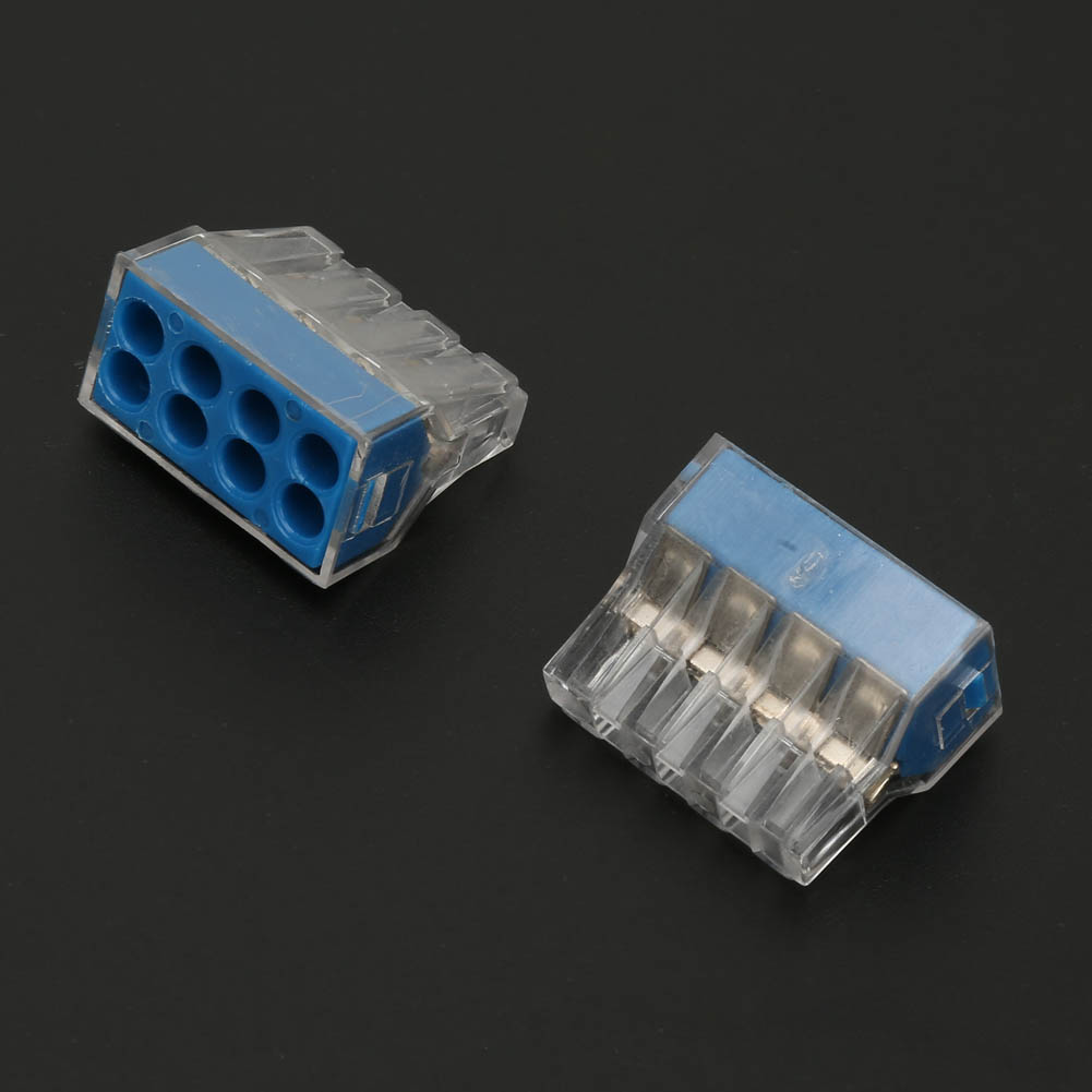 100pcs-2-4-6-8-Pin-Safe-Push-Fit-Wire-Wiring-Connector-Cable-Terminal-Block thumbnail 20