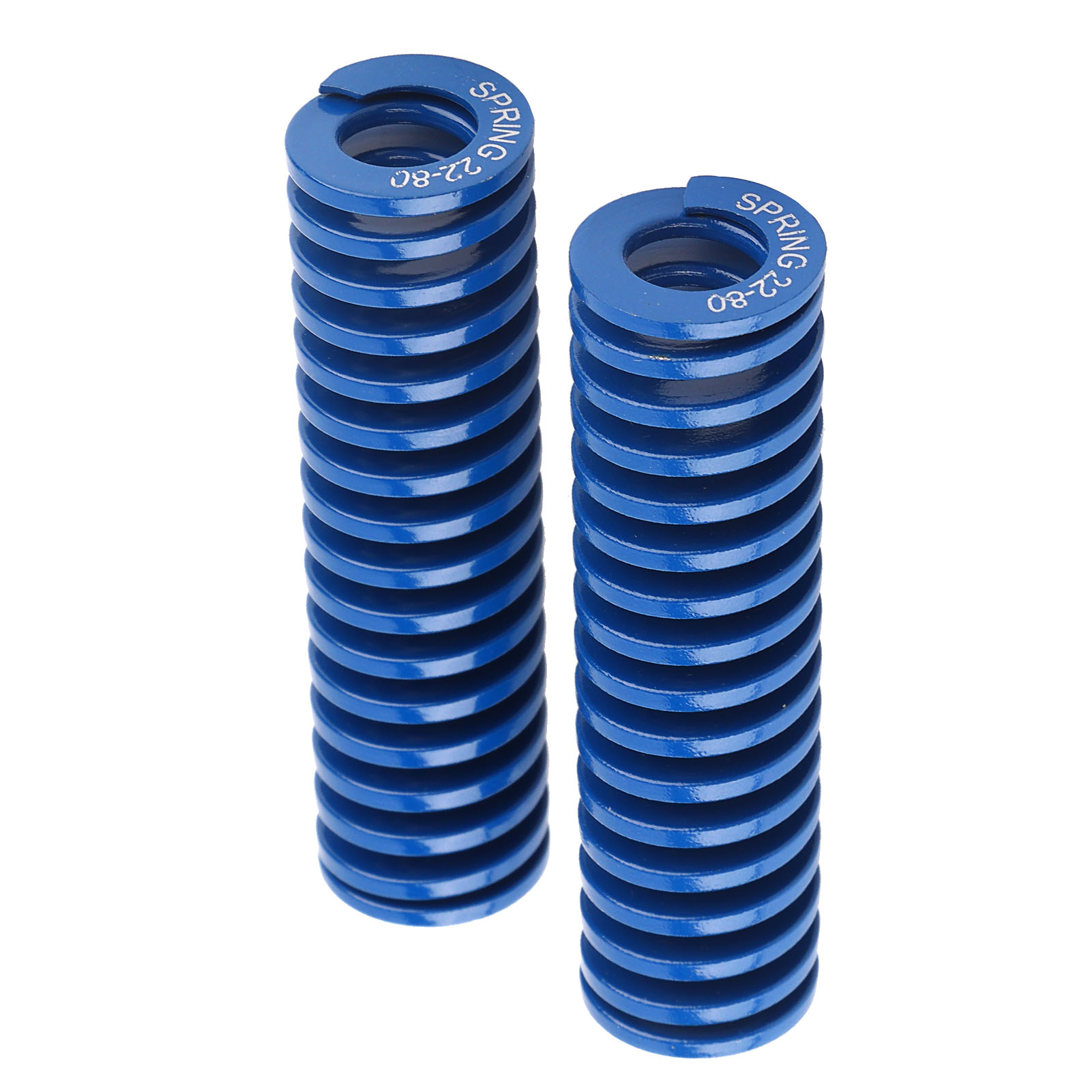 2pcs-Die-Spring-OD-22mm-ID-11mm-65MN-Steel-Light-Load-Mould-Die-Spring-Blue thumbnail 21