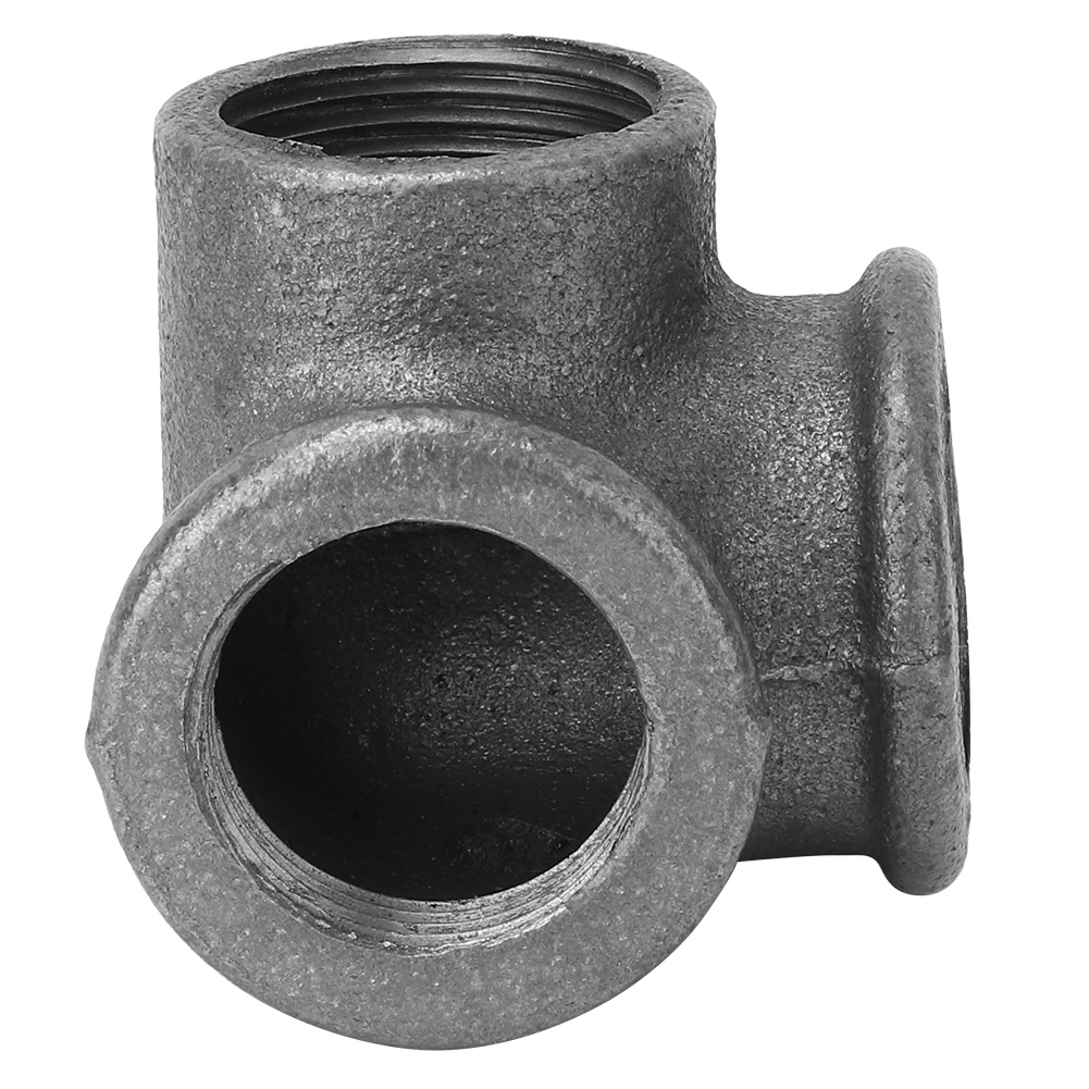 5pcs-Side-Outlet-Elbow-DEG-90-Malleable-Iron-Pipe-Fitting-Rustproof-Connector thumbnail 13
