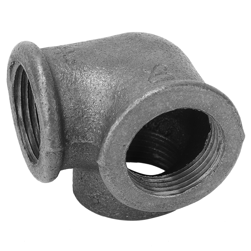 5pcs-Side-Outlet-Elbow-DEG-90-Malleable-Iron-Pipe-Fitting-Rustproof-Connector thumbnail 17