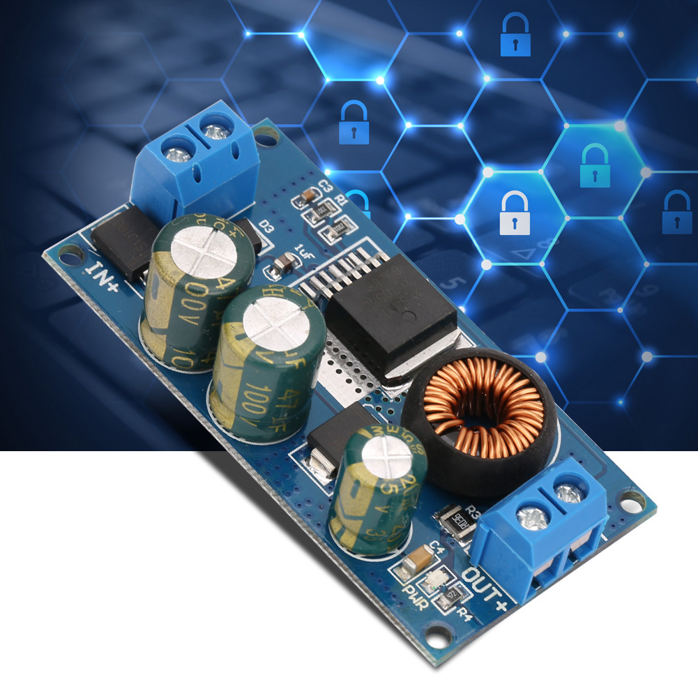 2-1A-DC-DC-High-Voltage-Buck-Module-Step-Down-Power-Supply-Input-10-80V-G thumbnail 12