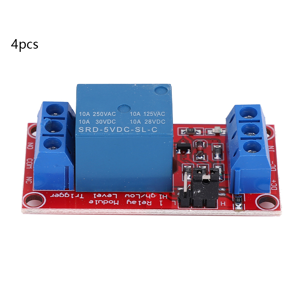 DC-5V-1-Channel-Relay-Control-Board-with-Optocoupler-High-Low-Level-Trigger thumbnail 10