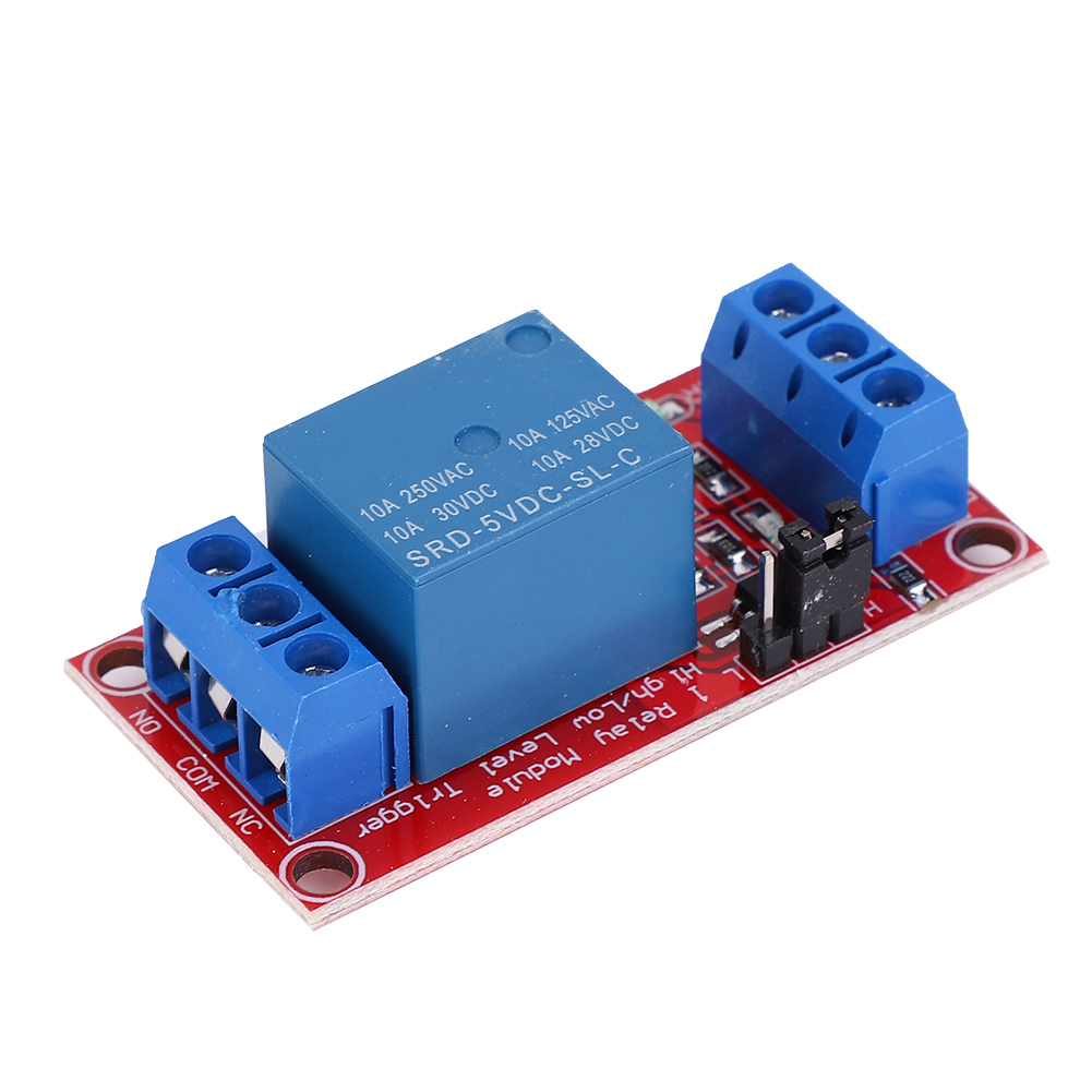 DC-5V-1-Channel-Relay-Control-Board-with-Optocoupler-High-Low-Level-Trigger thumbnail 11