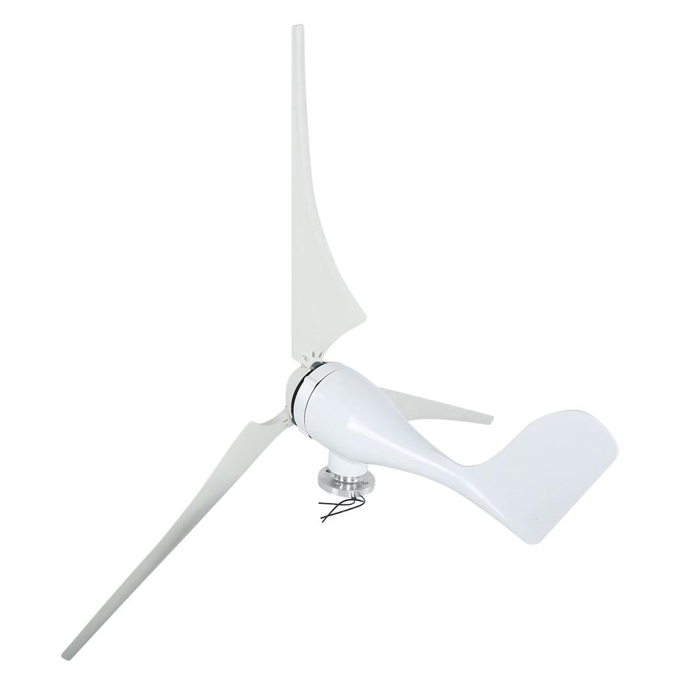 100W Wind Turbine Generator DC 12V 24V Nylon Fiber Wind 3 Blades Power Windmill 10