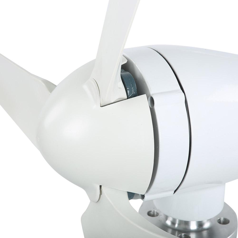 100W Wind Turbine Generator DC 12V 24V Nylon Fiber Wind 3 Blades Power Windmill 9