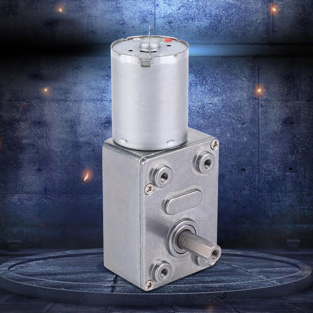 R 12V DC 100RPM Haute torsion boite de vitesse Moteur electrique hu4 SODIAL 1X