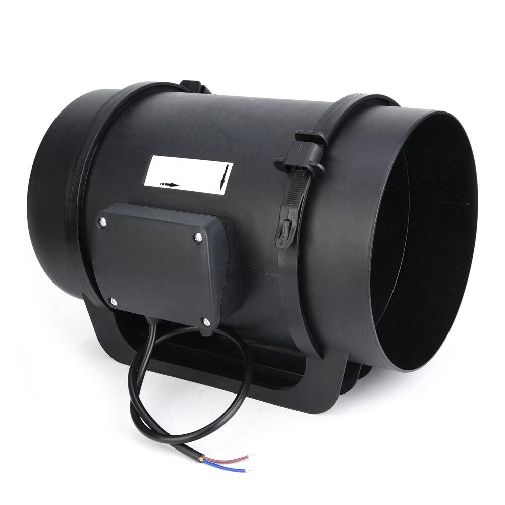 """8"""" Inline Duct Fan Bathroom Extractor Booster Vetilation ..."""
