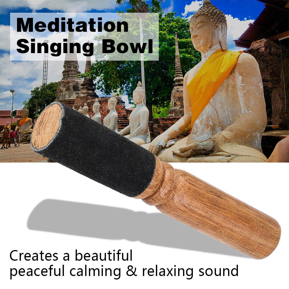 Tibetisch-Buddhismus-gehaemmert-Yoga-Kupfer-Meditation-Klangschale-Set-Kloeppel-dy