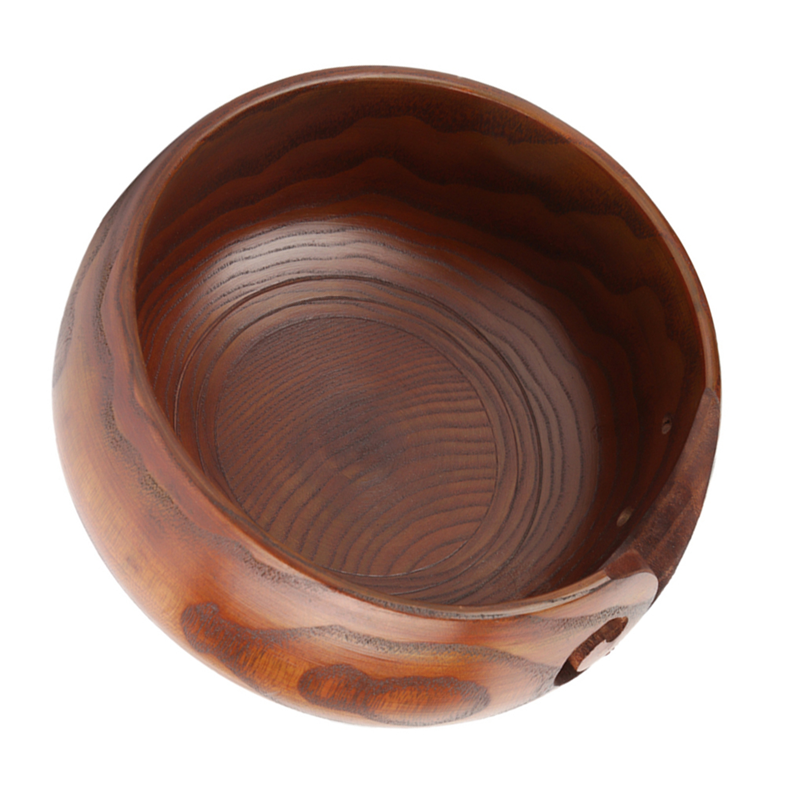 Multi-functional-Handcrafted-Classic-Wooden-Knitting-Yarn-Bowl-Ashtray-2-Sizes thumbnail 10