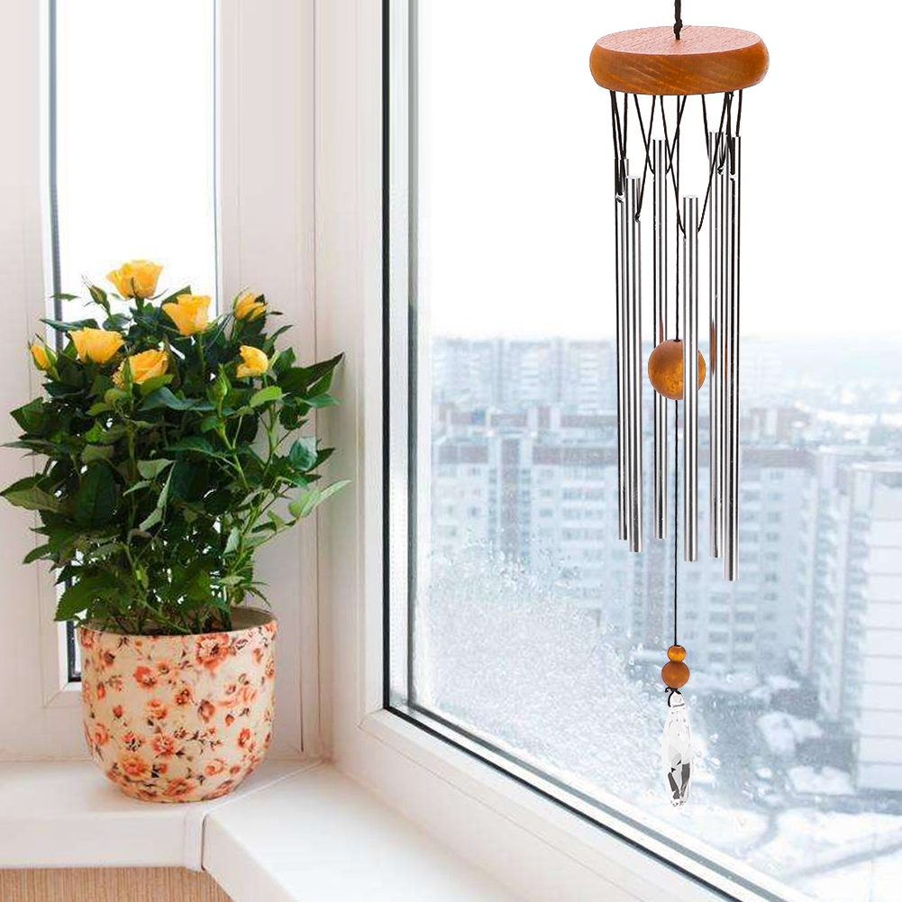 3 Color Handmade Wind Chimes Home Garden Hanging Bell ...
