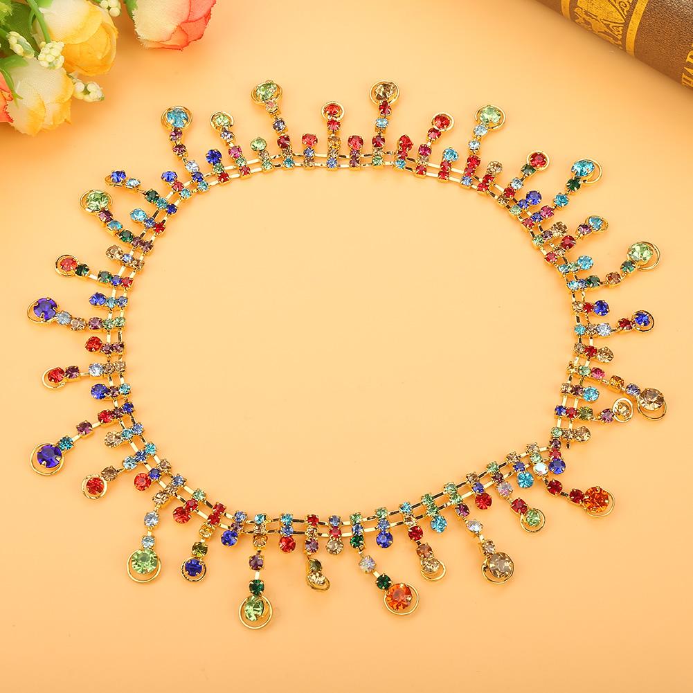 1-Yard-Sparkling-Rhinestone-Trim-Crystal-Chain-for-DIY-Wedding-Party-Dress-Decor thumbnail 16