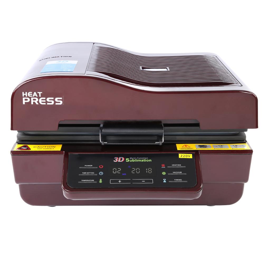 8daa49a2 3D Digital Heat Press Transfer Printing Sublimation Machine Set Kit ...