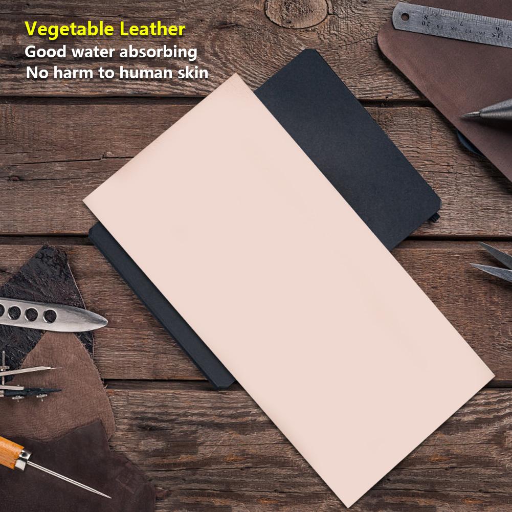 1-1-5-2mm-Vegetable-Tanned-Cowhide-Genuine-Leather-DIY-Craft-Belt-Material miniature 12